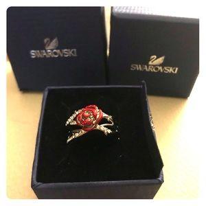 Swarovski Disney thorn and rose ring